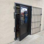 Comm Commercial Door W Mapes Panel 3
